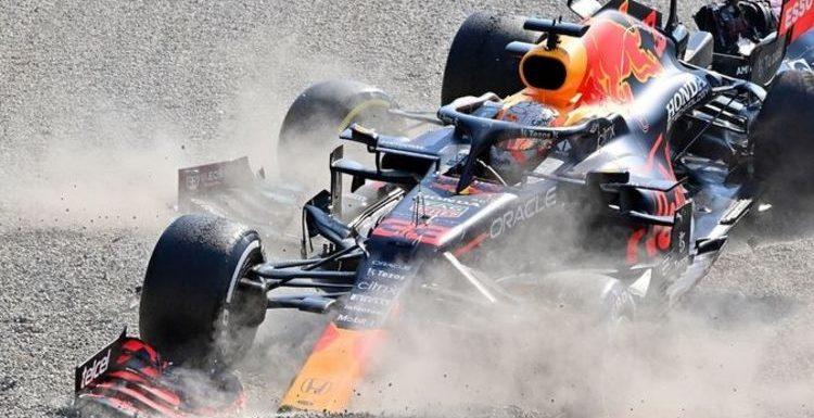 Max Verstappen's judgement brought into question after dramatic Lewis Hamilton crash