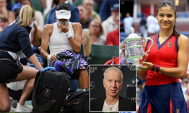 McEnroe stands by 'vanilla' Raducanu comments at Wimbledon