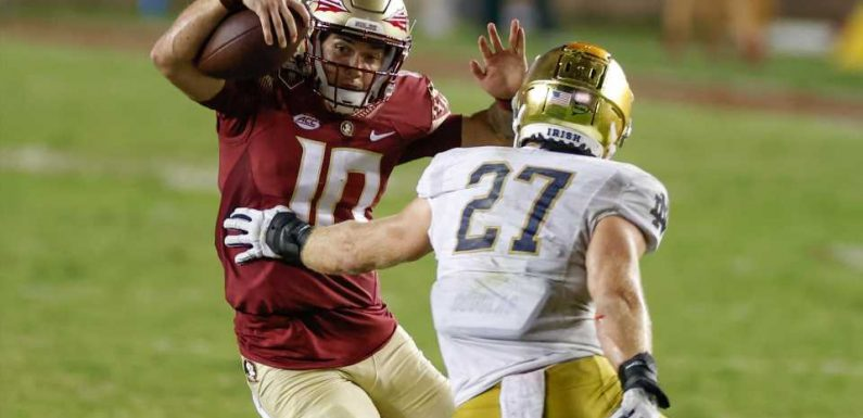 McKenzie Milton's comeback everything Florida State needed in near upset of Notre Dame