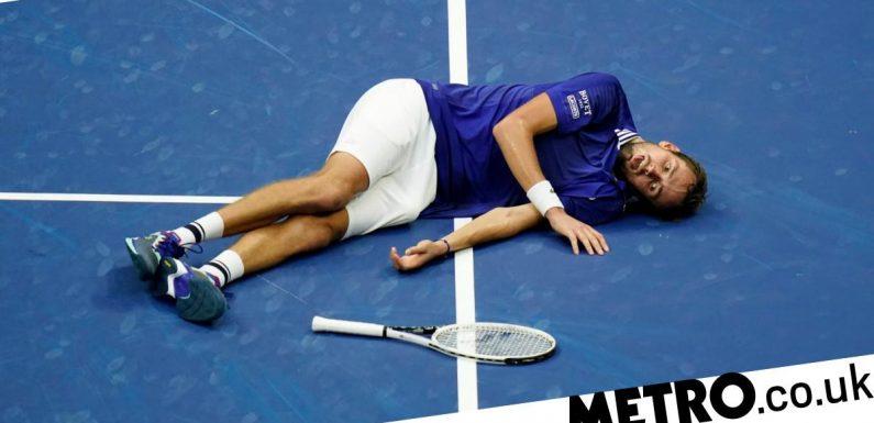 Medvedev explains 'dead fish' celebration after beating Djokovic in US Open