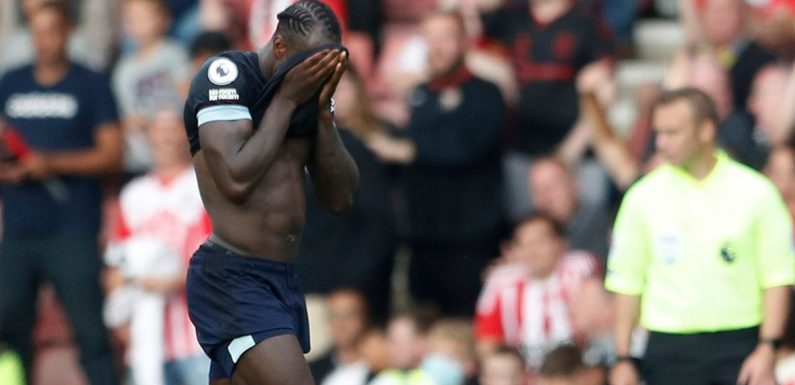 Michail Antonio's reckless red card for West Ham sparks Fantasy Football fury