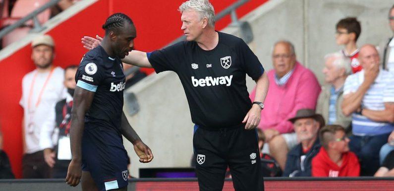 Michail Antonio's red card for West Ham hands Man Utd unexpected bonus
