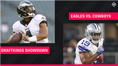 Monday Night Football DraftKings Picks: NFL DFS lineup advice for Week 3 Eagles-Cowboys Showdown tournaments
