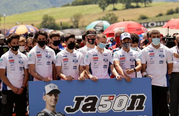 MotoGP's touching tributes to Jason Dupasquier at Italian GP after tragic death