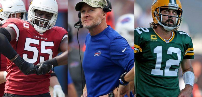 NFL Week 1: Cardinals good, Bills bad, Packers ugly