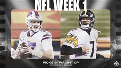 NFL picks, predictions for Week 1: Steelers upset Bills; Buccaneers, Rams, Ravens roll in prime time
