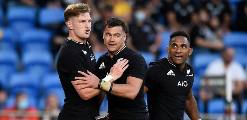 New Zealand cruise to victory over Argentina in one-sided Rugby Championship win