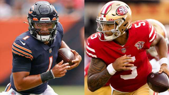 Niners, Bears ready to unveil packages for rookie QBs Trey Lance, Justin Fields in Week 1