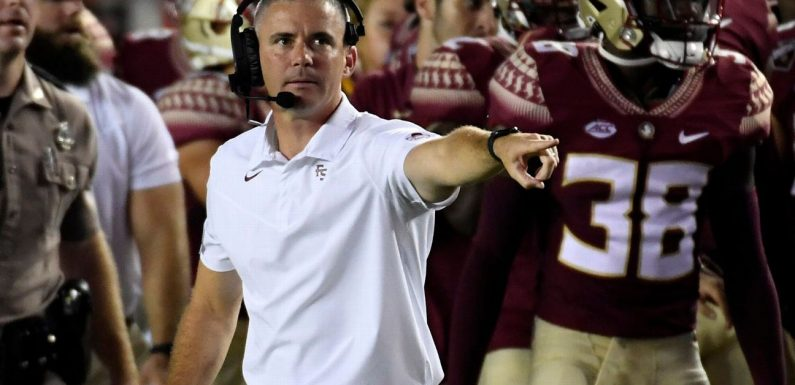 Norvell: Noles won't quit after loss to FCS team