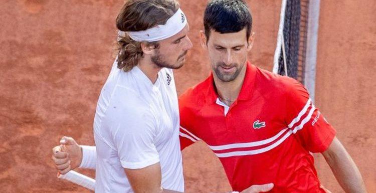 Novak Djokovic hauled into Stefanos Tsitsipas row after Rafael Nadal's uncle took aim
