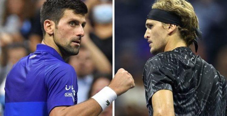 Novak Djokovic 'pumped' to face Alexander Zverev 'challenge' in US Open semi-finals