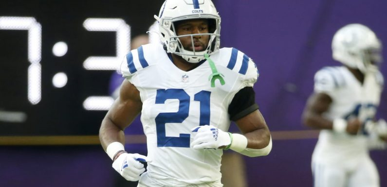 Nyheim Hines, Colts agree to three-year, $18.6 million extension
