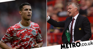 Ole Gunnar Solskjaer fires warning to Cristiano Ronaldo after Man Utd return