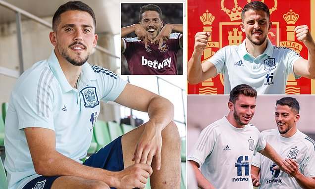 Pablo Fornals on West Ham's European dream and his Spain recall