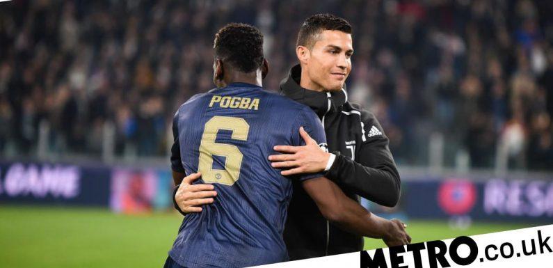 Paul Pogba sends message to Man Utd team-mates over Cristiano Ronaldo