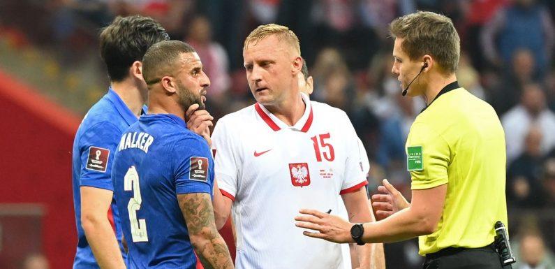 Poland deny FA accusation that Kamil Glik racially abused Englands Kyle Walker