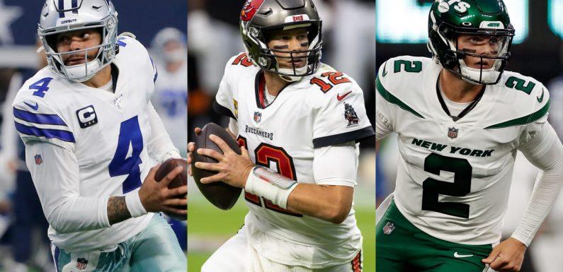 QB Index, Week 1: Ranking all 32 starters entering 2021 NFL season