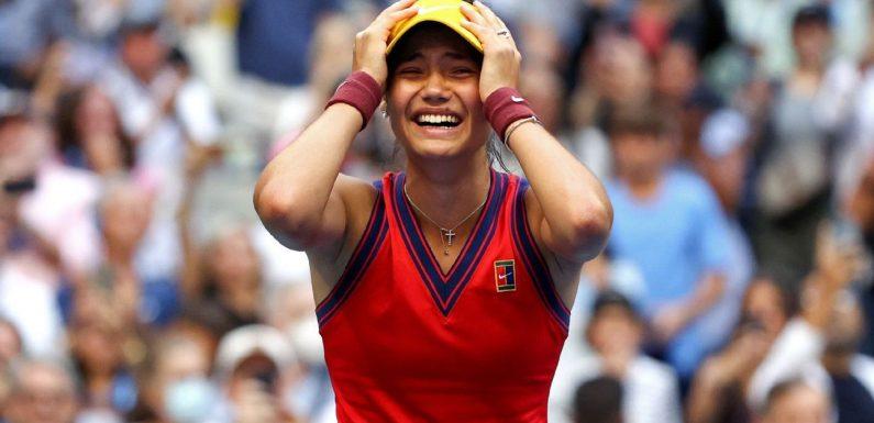 Raducanu's US Open Finals win elicited major social media support — including Queen Elizabeth II