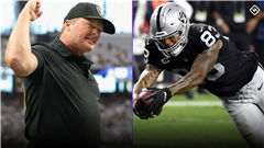 Raiders' Jon Gruden has high praise for Darren Waller: 'He's the best player I've ever coached'