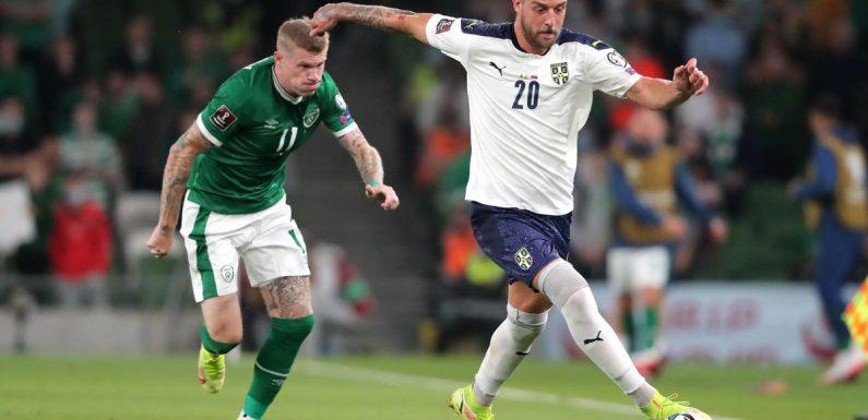 Republic of Ireland grab draw against Serbia as Sergej Milinkovic-Savic goes from hero to zero