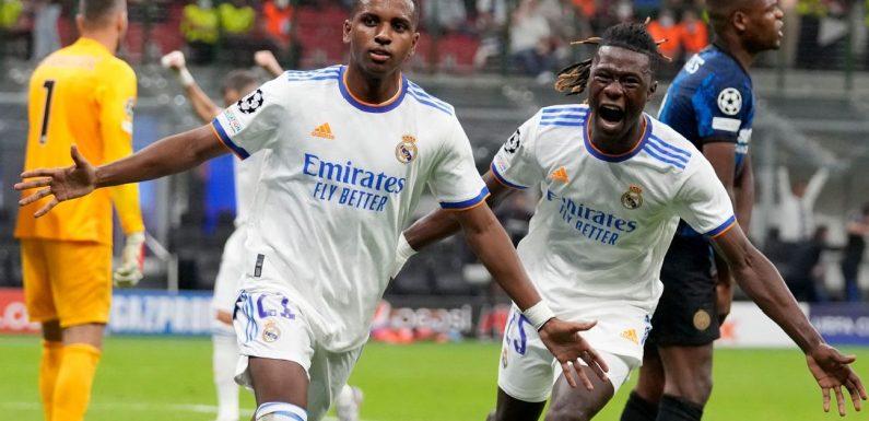 Rodrygo, Courtois get 8/10 for sealing Real Madrid's win at Inter Milan