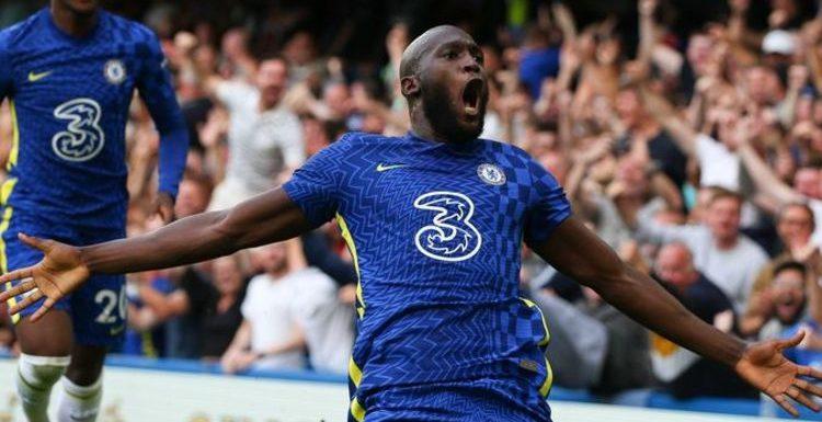 Romelu Lukaku makes fun of his own celebration after first Chelsea goal at Stamford Bridge