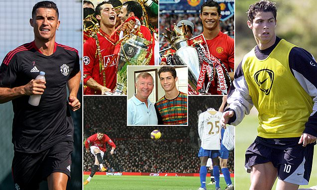 Ronaldo picture special: From the skinny kid to the toned veteran