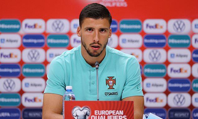 Ruben Dias says Portugal 'aren't happy' with recent defensive displays