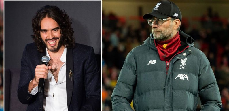 """Russell Brand """"attracted"""" to Klopp because Liverpool boss looks like his wife"""