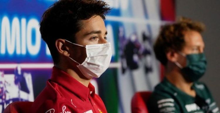 Sebastian Vettel and Charles Leclerc offer advice to Lewis Hamilton and George Russell