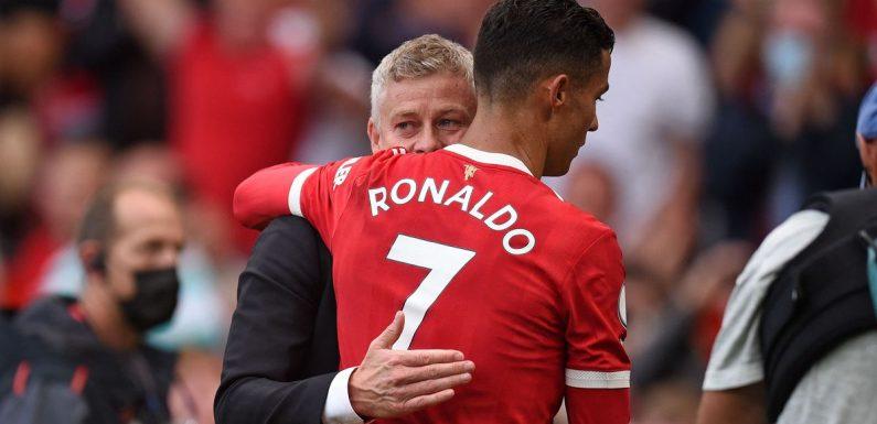 Solskjaer already set to rest Ronaldo after just one Man Utd appearance