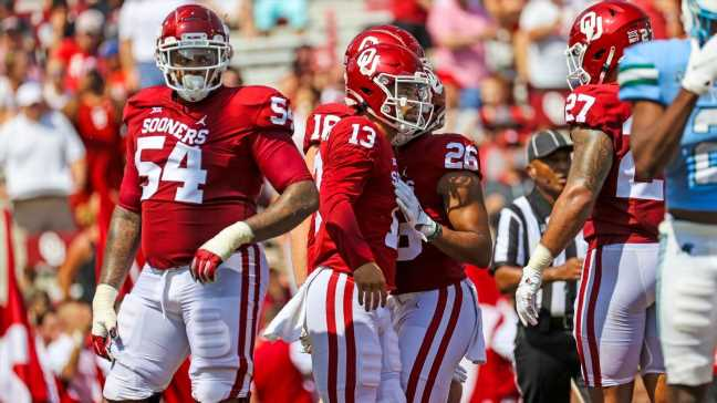 Swings and misses from SP+ and betting spreads in CFB Week 1 games