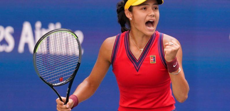 Teenager Emma Raducanu is genuine contender for US Open ahead of quarter-final against Belinda Bencic