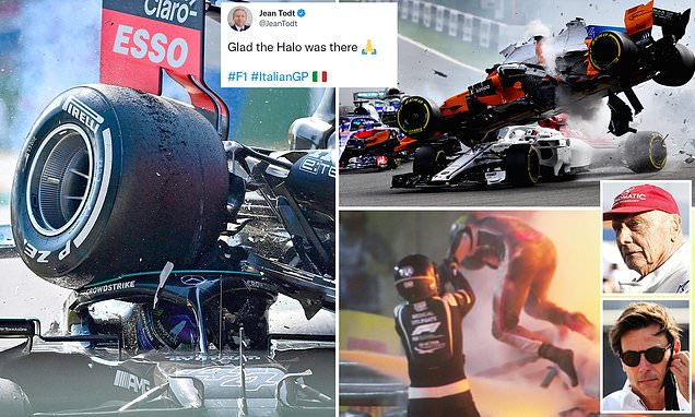 The Halo has saved the lives of LeClerc and NOW Lewis Hamilton