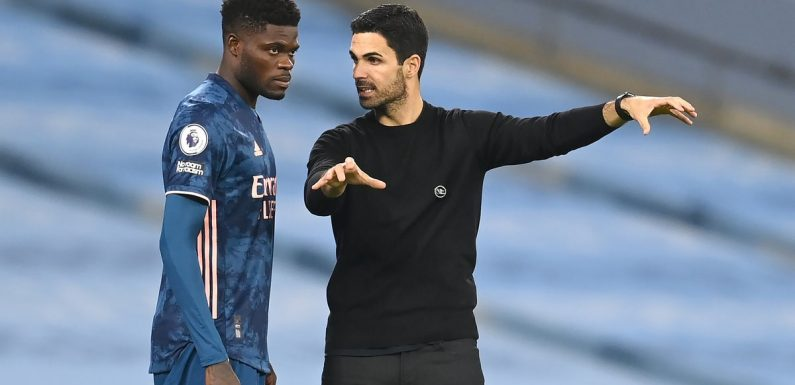 The midfield boss – Mikel Arteta calls on Thomas Partey to be leader for Arsenal