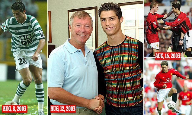 The nine days that changed Cristiano Ronaldo and Man United forever