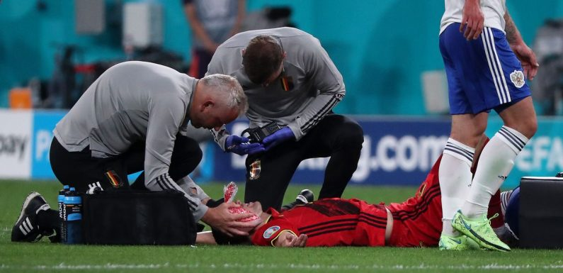 Timothy Castagne's career almost ended by eye socket fracture on Belgium duty