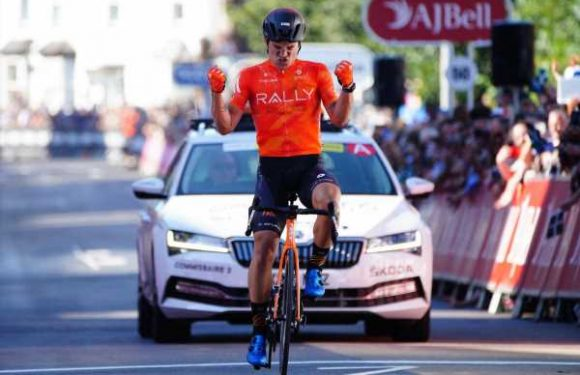 Tour of Britain: American Robin Carpenter wins the second stage in Exeter
