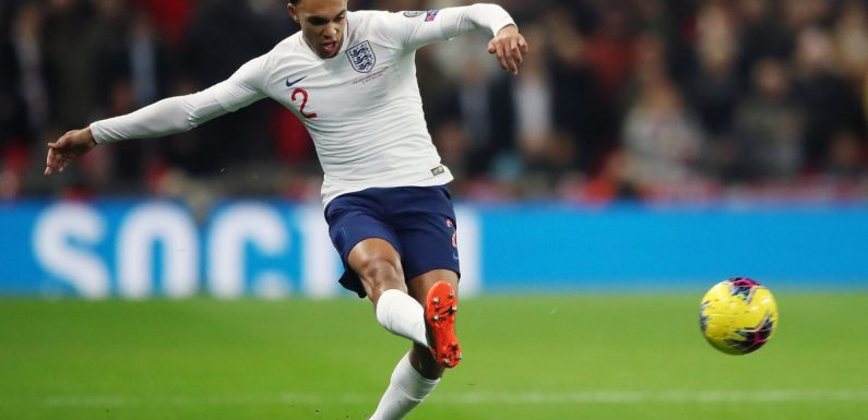 Trent Alexander Arnold wants to prove himself on the international stage