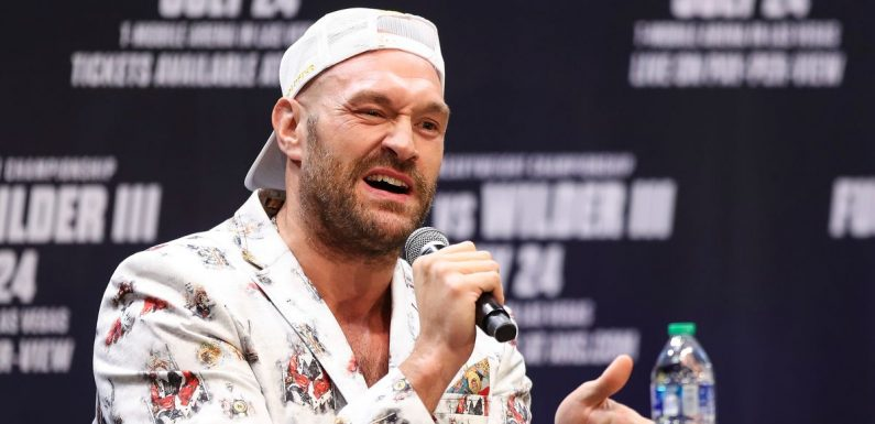 """Tyson Fury slams """"jealousy"""" of Paul brothers over raking in millions from boxing"""