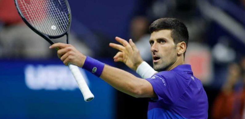 US Open 2021: Novak Djokovic edges closer to calendar Grand Slam after winning epic semifinal