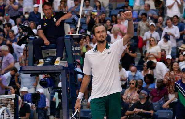 US Open: Daniil Medvedev ends qualifier Botic van de Zandschulp's run