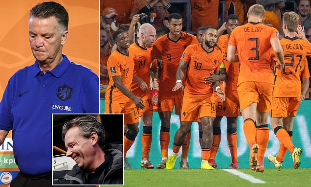 Van Gaal FUMES at Dutch reporter for claiming he plays defensively