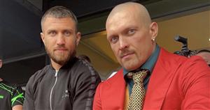 Vasyl Lomachenko to be ringside to support Oleksandr Usyk against Anthony Joshua