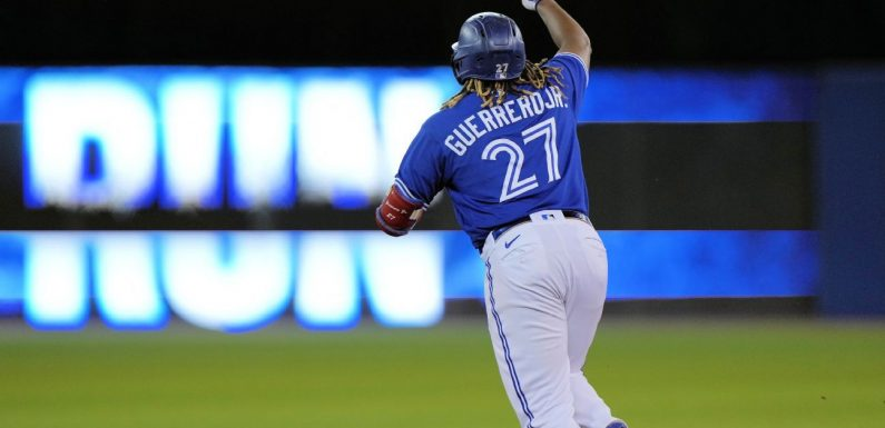 Vlad Jr. passes Ohtani, eclipses dad with 45th HR