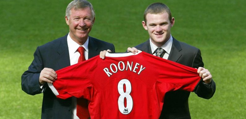 Wayne Rooney and Ferguson screamed at each other in matches – and boss loved it