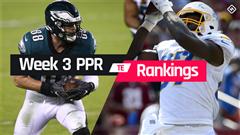 Week 3 Fantasy TE PPR Rankings