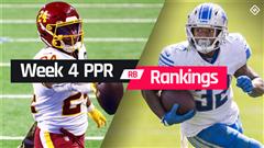 Week 4 Fantasy RB PPR Rankings