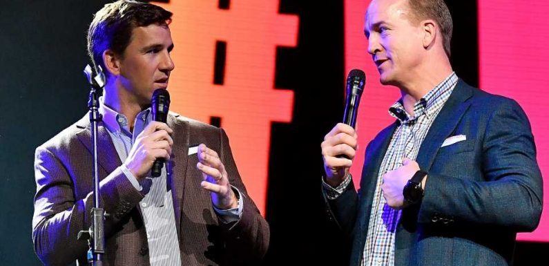 Why ESPNs Peyton and Eli Manning broadcast is only right way to watch Monday Night Football