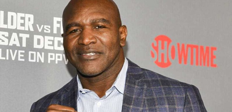 Why is Evander Holyfield boxing again? The reason 58-year-old ex-champ is fighting Vitor Belfort